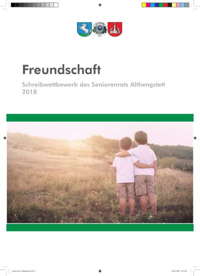 Schreibwettbewerb des Seniorenrats Althengstett 2018_