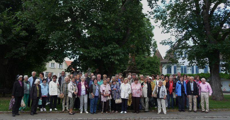 Ausflug des Seniorenrats Althengstett am 23.06.2015